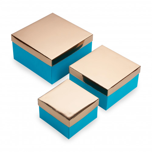 Набор 3 шт - Золото/Гламурный Зеленый